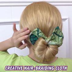 Scarf Hairstyles, Summer Hairstyles, Braided Hairstyles, Hair Scarf Styles, Curly Hair Styles, Thick Curly Hair, Hair Creations, Hair Dos, Hair Hacks