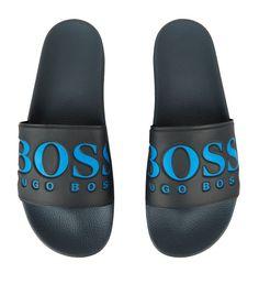 bf1f6d84b BOSS Logo Slides | Harrods.com