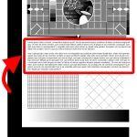 Mono Laser Printer Test Page