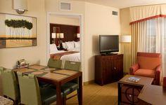 Residence Inn Ft. Myers Sanibel Hotel-Double Queens Living Area http://www.marriott.com/hotels/event-planning/travel/rswrs-residence-inn-fort-myers-sanibel/