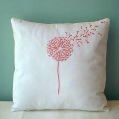 dandelion pillow
