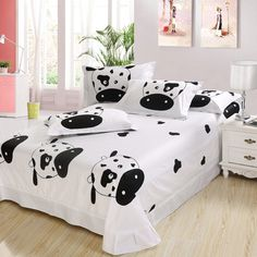 Wonderful Cow Bedroom