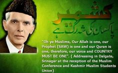 ---- Quaid-e-Azam - Muslims and war, it's like fish and the water. Unless they evolve, they can't get separated. Grow some legs, and crawl out of war already, 1400 years was quite enough.