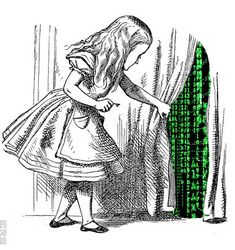 Alice finds a tiny door behind the curtain. John Tenniel (Alice's Adventures in Wonderland by Lewis Carroll) John Tenniel, Alice And Wonderland Quotes, Adventures In Wonderland, Alice In Wonderland Original, Alice In Wonderland Artwork, Alison Wonderland, Wonderland Party, Alice In Chains, Bazar Bizarre
