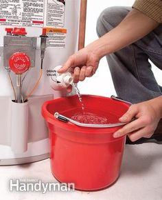 Extend Water Heater Life A Little Preventive Maintenance Keeps The Hot Flowing