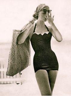 Millie Motts beachwear 1950's