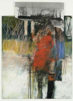 Henry Jackson, oil, dry pigment, cold wax, collage & graphite on paper Henry Jackson, Art Postal, Wax Art, Collage Art Mixed Media, Encaustic Art, Figure Painting, Figure Drawing, People Art, Western Art