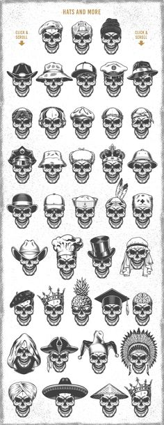 We'd like to present Skull creator. It's an easy way for you to create custom skull design. Skull Tattoo Design, Skull Design, Tattoo Designs, Crown Tattoo Design, Tattoo Ideas, Design Web, Helmet Tattoo, Beard Tattoo, Ski Mask Tattoo
