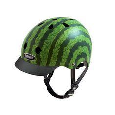 Casco Nutcase Watermelon con visor BiciCiudad