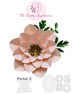 Start your own paper flower business and make money from the comfort of your home using The Crafty Sagittarius Premium Paper flower templates Paper Flower Patterns, Paper Flowers Craft, Large Paper Flowers, Paper Flowers Wedding, Paper Flower Wall, Paper Flower Backdrop, Flower Crafts, Paper Crafts, Leaf Template