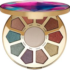 tarte Make Believe In Yourself Eye Cheek Palette (£32) ❤ liked on Polyvore featuring beauty products, makeup, eyeshadow, tarte cosmetics, tarte, tarte makeup and palette makeup
