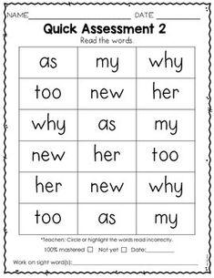 Sight Word Practice Kindergarten Set 3 Preschool Sight Words, Teaching Sight Words, Sight Word Practice, Sight Word Activities, Sight Word Readers, Sight Words List, Cvc Words, Kindergarten Learning, Teaching Phonics