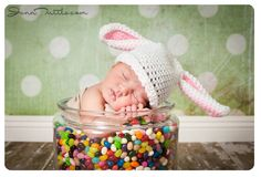 Baby In Jelly Beans - Easter