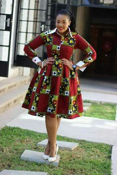 Latest Ankara Dress Styles - Loud In Naija African Fashion Designers, Latest African Fashion Dresses, African Dresses For Women, African Print Dresses, African Print Fashion, Africa Fashion, African Attire, African Wear, African Prints