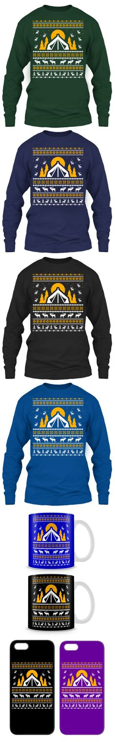 Camping Ugly Christmas Sweater! Click The Image To Buy It Now or Tag Someone You Want To Buy This For.