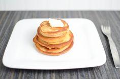 Super simple pancake recipe, perfect for those lazy Sunday mornings! Perfect Pancake Recipe, Yummy Recipes, Yummy Food, Lazy Sunday Morning, Milk And Eggs, Banana Pancakes, Super Simple, Fresh Fruit, Mornings