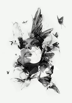 Via behance collage art mixed media, art sketches, art drawings, graphic . Art And Illustration, Graphic Design Illustration, Graphic Art, Illustrations, Poster Design, Art Design, Art Sketches, Art Drawings, Art Tumblr