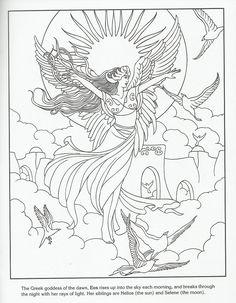 Eos - Greek Goddess of the Dawn