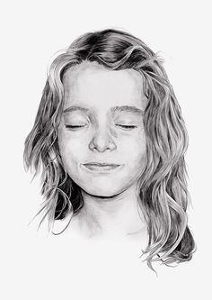 Kid portrait by Chamo San for Alia2 Tiempo BBDO