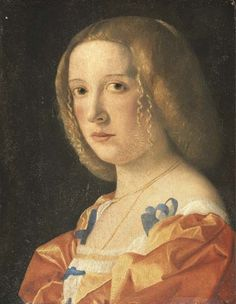 """Giovanni Cariani - """"Portrait of a young lady"""""""