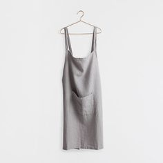 GREY WASHED LINEN APRON - Kitchen Accessories - Tableware | Zara Home United States