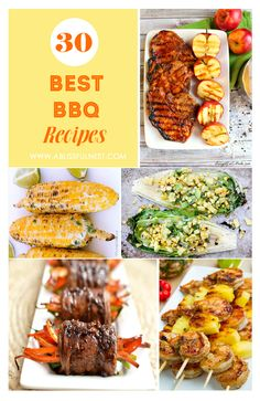 Best BBQ Recipes via A Blissful Nest