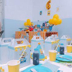 Ideas Party, Dragon Ball, Blog, Spongebob Birthday Party, School Parties, 4 Years, Decorations, Fiestas, Party Ideas