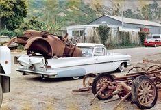 1959 Chevrolet El Camino haulin model T body parts