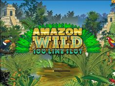 Play this 100 lines slot game online here.  http://www.onlineslotgames4u.com/play/amazon-wild-slot-game/