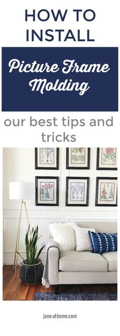 How to Install Picture Frame Molding - Our Best Tips and Tricks-metrie-fashion-forward-scene II-panel-moulding-wall-treatment-interior-finishings-trimwork-millwork @officialmetrie #mymetrie #metriesighting