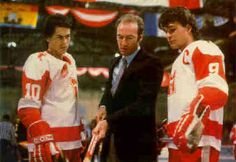 """Forget """"Miracle on Ice"""" or """"Slapshot"""" ..... Youngblood is easily my favorite Hockey Flick.......          Derek Sutton (Patrick Swayze): """"To the game and getting out of this hick town! Thank God there is a sport for middle-sized white boys."""""""