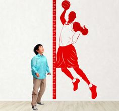Your child will like see himself grow up! #child #basketball #Sticker