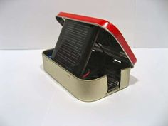 DIY solar phone charger!  Cool.  Why?  Just 'cuz and besides it fits in an Altoid box.  I love stuff like this!
