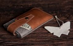 iPhone 5 Case with Leather Strap in Classic Grey