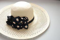 BEIGE sun hat  Mid brim hat  Summer vacation hat  by LALcouture