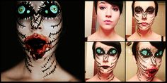 Mosquito Freaky Scary Makeup Transformations by the Talented Stephanie Fernandez (7 Images)