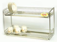 Charming Wall Mounted Dish Drying Rack   Google Search