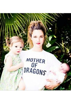 Drew Barrymore rocked the best t-shirt ever