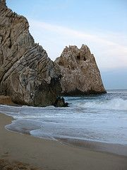 Cabo San Lucas - this is exactly the spot I was hit by the tsunami and almost dragged out to the ocean!!!