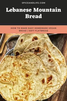 You will love this recipe because it is straightforward, easy, quick (it requires you to be around for only a couple of minutes at each stage!) and tasty; after trying this very family-friendly recipe you will say 'no' to store-bought flatbread – truly! Healthy Indian Recipes, Best Vegan Recipes, Mountain Bread Recipe, Italian Dinner Recipes, My Favorite Food, The Best, Food To Make, Easy Meals, Tasty