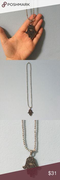 Vanessa Mooney hamsa necklace Silver hamsa necklace from Vanessa Mooney. No imperfections. Vanessa Mooney Jewelry Necklaces