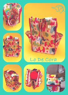 Bolsos Materos!!! Fabric Origami, O Bag, Suitcase, Diy Projects, Sewing, Gifts, Inspiration, Zig Zag, Google