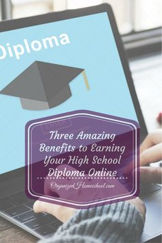 There are so many options to consider when planning for your student's high school years. Earning your diploma online is just one of the many options you have. This guest post contributed by James Madison High School outlines some of the benefits of earning a high school diploma online. No matter what you choose, make sure your child has the study skills they need to succeed and that you keep good records to document theirhard work and … Continue reading →