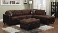 Available in our showroom now for only $635, Coaster's Mallory Chocolate Sofa is a steal of deal! Order yours today by clicking the image above or by calling/texting 972-698-0805. #furniture #sectionals #couches #sofas #decorating #LivingRoom #DFW #Dallas #FortWorth Coaster Furniture, Sofa Furniture, Online Furniture, Living Room Furniture, Brown Sectional, Tufted Sectional, Sleeper Sofas, Leather Sectional, Sofa Bed