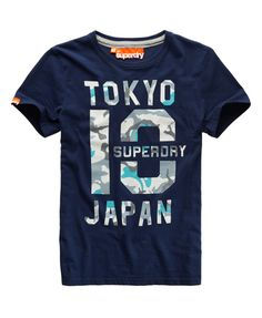 Superdry Mid Point T-shirt - Mens Sale - View All