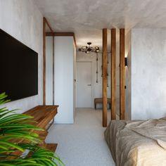 Спальная комната в этическом стиле.