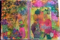 The Mermaid's Closet: Dylusions Creative Journal