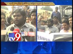 Fans protest against  'Pawan Kalyan Hatao Politics Bachao!'