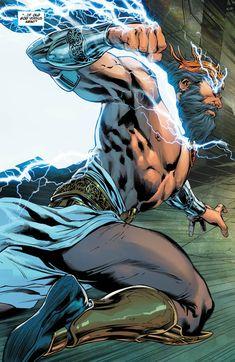 """""""ZEUS"""" Wonder Woman #37"""