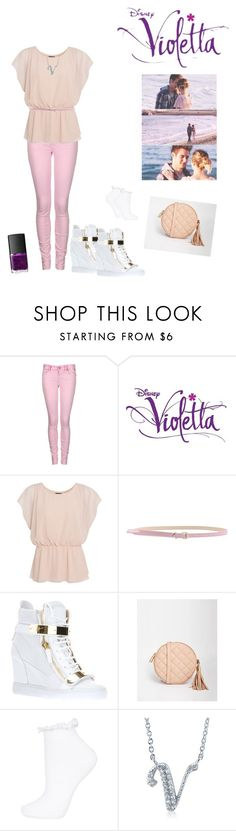 """""""violetta en leon seizoen 3"""" by violettafan13 ❤ liked on Polyvore featuring Replay, MSGM, Giuseppe Zanotti, ASOS, Topshop, BERRICLE, NARS Cosmetics, women's clothing, women and female"""